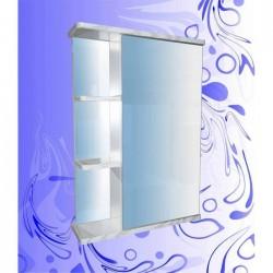 Шкаф-зеркало Венера 500/Белая Патина /Левый(Правый)