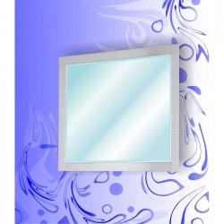 Зеркало Адель  900 Сандал Белый
