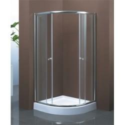 Душевой уголок Водный Мир ВМ-8120S 90*90*195 Матовое стекло