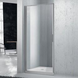 Душевая дверь BelBagno Sela B-1 75 профиль Хром стекло прозрачное