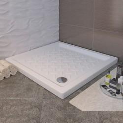 Душевой поддон квадратный керамический RGW CR (700x700)