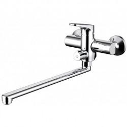 Смеситель для ванны c длинным изливом Bravat Eler F6191238CP-01L-RUS