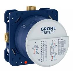 Универсальная встраиваемая часть GROHE Rapo SmartBox для вентилей смесителей и термостатических смесителей Grohtherm SmartControl (35600000)